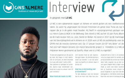 ONS ALMERE – LIL MG